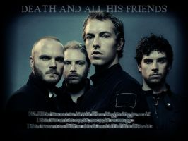 Death and all his friends by Stephue