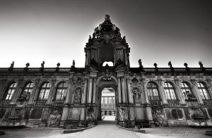 Dresden . Zwinger by MarcoHeisler