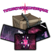 The Twilight Sparkle Uberpack by M24Designs