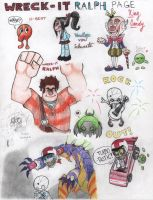 Wreck-it Ralph Page (spoilers) by RedChao