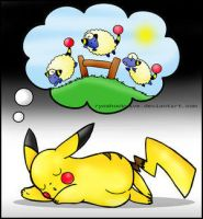 Counting Sheep by Pikachu-Fans