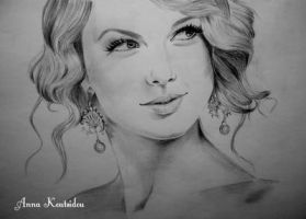 Taylor Swift by annakoutsidou