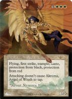 Alter Frameless Akroma, AoW by diemwing