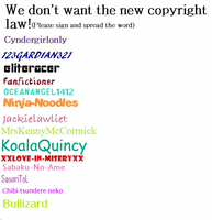 PLEASE SIGN THIS HERE. by Bullizard