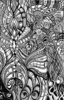 Psychedelic Romanesque 1 by Artwyrd