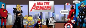 Join the Avengers! by odinforce23