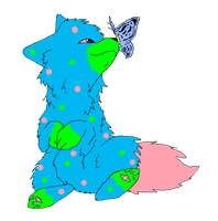 Kailo and a Butterfly by TimidFawn