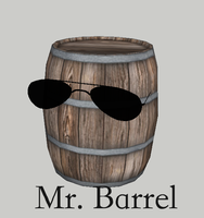 FAHKING BARRELS INVADED MY dA!!! by Noiporcs