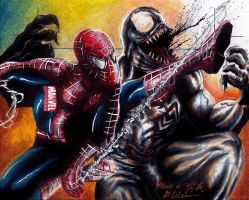 Spider-Man Vs. Venom MU2011 AP by Twynsunz