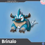 Brinalo Fakemon Redesign by Moonshaft