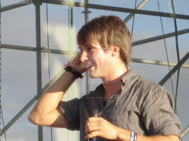 James Maslow Fixing His Earpiece by WolfArt-Rusher