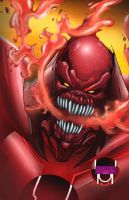 Red Lantern Atrocitus by JeffieB