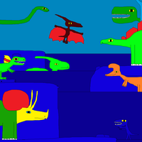 Diplodocus and a New Group by Gojirafan1994