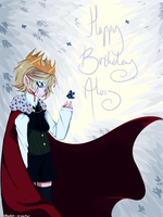 Happy Birthday Alois by Polkadot-Creeper