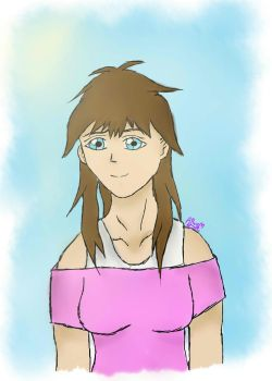 First Tablet Drawing 8D by xela1234