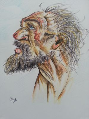 Peter Howson Study 2#
