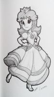 Princess Daisy (Staedtler) by CutyAries