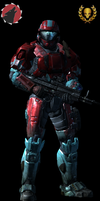 Me from Halo Reach by SuperSonic124TH