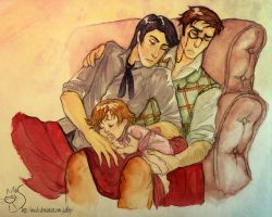 Sleeping daddies by M-I-D-S