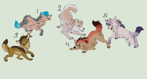Wolf Adopts! by babyfawns