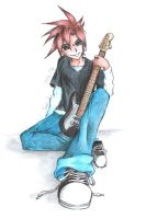 The New Guitarist by TheSketcher