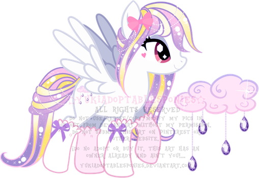 Jewel Rain Pony Adoptable (CLOSED) by KingPhantasya