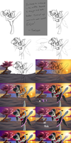 Dance of the Violin - WIP by Althyra-Nex