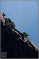 Huangshan Ascent by superkev