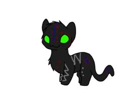 Chibi Cat Adoptable (open) by shewolf321