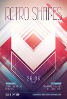 Retro Shapes Flyer by styleWish