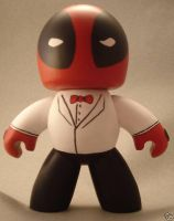DEADPOOL in TUX Mighty Muggs by TomCampbell