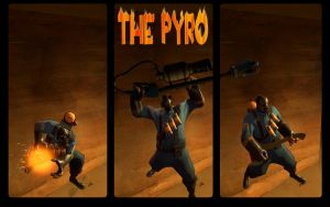 The Pyro- Team Fortress 2 by pi1k