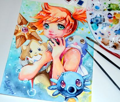 Pokemon Trainer Misty by Lighane