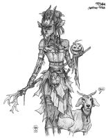 Nyala, Witch of the Woods by Everwho