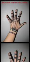 Halloween costume test_hands by E1L0n3wy