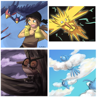 Flying Types by totodos