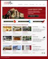 Heritage Rooflines Web Design by taki3