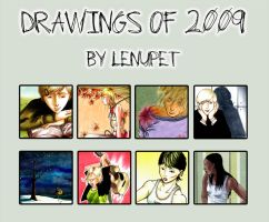 Drawings of 2009 by LenupetComics