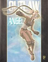 Outlaw Angel Commission by EricGuzman