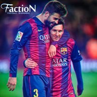 Messi and Pique - Faction by taarsomoraes