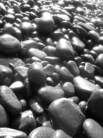 Wet pebbles by MtnGirl