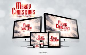 Merry Christmas And Happy New Year Wallpapers by deiby