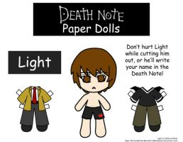 Light Paper Doll by Malindachan