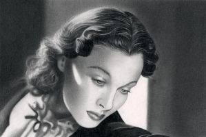 Vivien Leigh VII by molibali