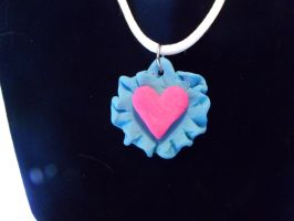 Ribbon Heart Pendant by RobertPlantsPants