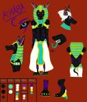 Khaba Reference sheet by sheepylizzy