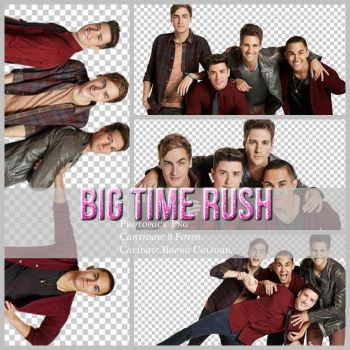 Big Time Rush Photopack Png by MaartySwagEdiciones