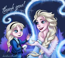 Let it go, little princess by LinceEaling