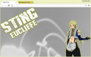Fairy Tail Chrome Theme: Sting Eucliffe by yohohotralala