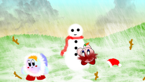 Collab Pic 'Snowman' by KirbyDude64